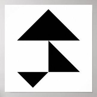 Triangles Print