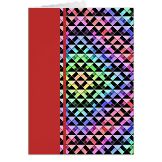 Triangles Rotated Card