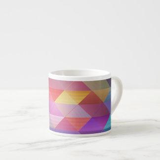 Triangles structure espresso cup
