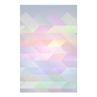 Triangles structure stationery