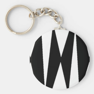 Triangles WB Keychain