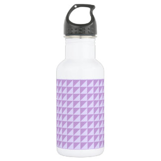 Triangles - Wisteria and Pale Lavender Water Bottle