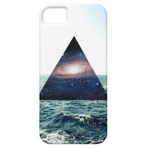 TriangleSeaGalaxy iPhone 5 Case