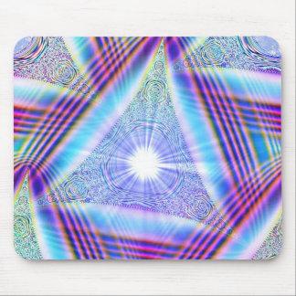 Triangu-light Mouse Pad