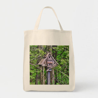 Triangular Birdhouse Bag