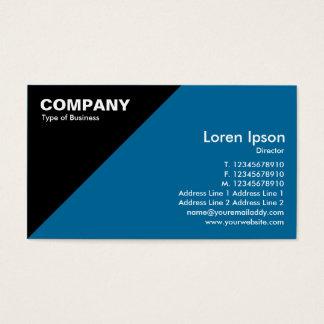 Triangular Corner - Blue (006699 Business Card