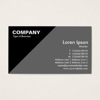 Triangular Corner Business Card