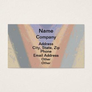 TRIANGULAR DESIGN BUSINESS CARD