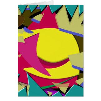 Triangular Dimension Card