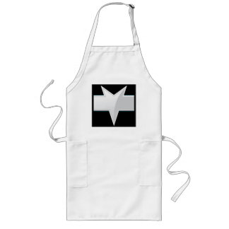 Triangular Product Label Template Long Apron