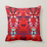Triangular Red Throw Pillows