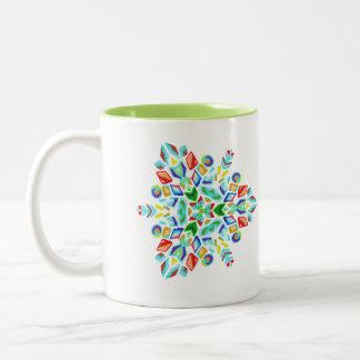 ~Triangular~ Snowflake Mug