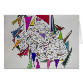triangular thoughts card