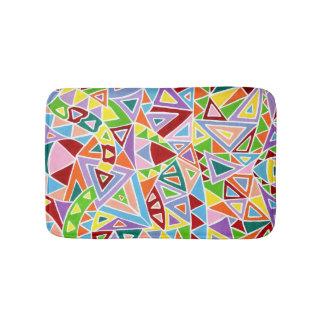 Triangulation Bathroom Mat