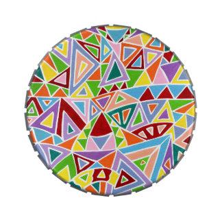 Triangulation Candy Tin