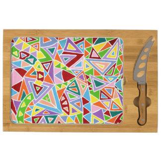 Triangulation Cheese Board