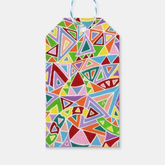 Triangulation Gift Tags