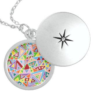 Triangulation Locket Necklace