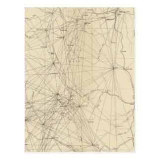 Triangulation Map of Colorado Post Cards