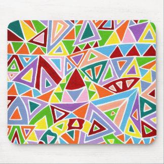 Triangulation Mouse Pad