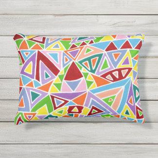 Triangulation Outdoor Pillow