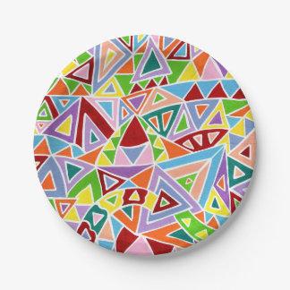 Triangulation Paper Plate