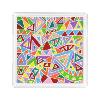 Triangulation Serving Tray