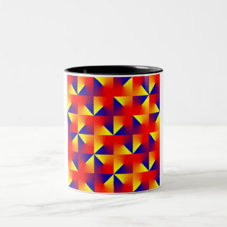 Triangulation Two-Tone Coffee Mug