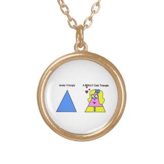Triángulo agudo un triángulo realmente lindo joyerias