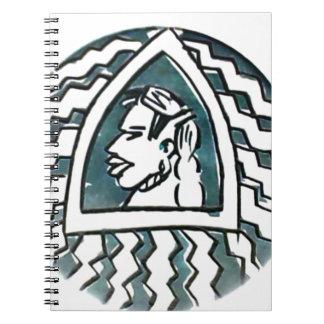 Triángulo azul Style.png de Hakuna Matata Spiral Notebooks