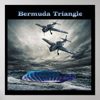 Triángulo de Bermudas del vuelo 19 Póster