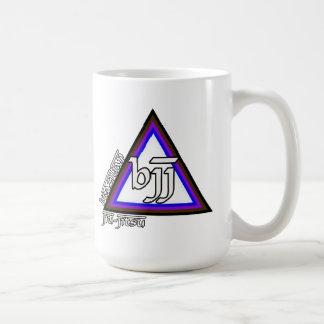 Triángulo de Jiu Jitsu BJJ del brasilen@o del prog Tazas De Café
