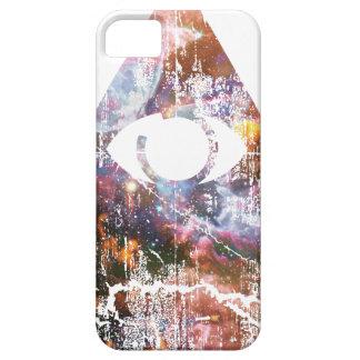 Triángulo de la galaxia funda para iPhone 5 barely there