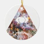 Triángulo de la galaxia ornamentos de reyes