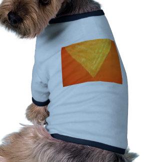 Triángulo de oro - corazones del Threesome Camiseta De Mascota