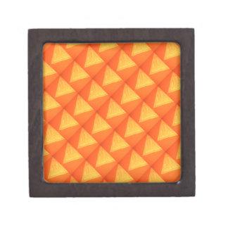 Triángulo de oro: Impresión DE SEDA de la celebrac Caja De Regalo De Calidad