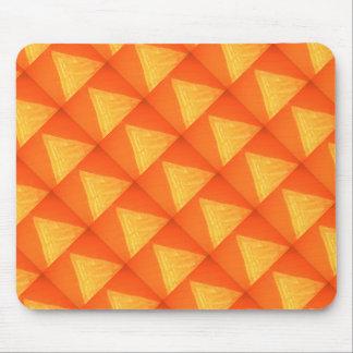 Triángulo de oro: Impresión DE SEDA de la Alfombrilla De Ratón
