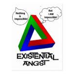 Triángulo de Penrose - nada es imposible Postales