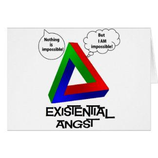 Triángulo de Penrose - nada es imposible Tarjeta