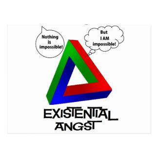 Triángulo de Penrose - nada es imposible Tarjeta Postal