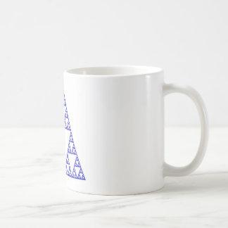 Triángulo de Sierpinski Tazas De Café