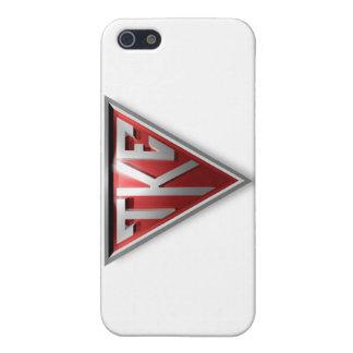 Triángulo de TKE iPhone 5 Fundas