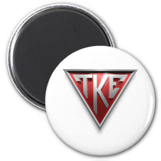 Triángulo de TKE Imanes De Nevera
