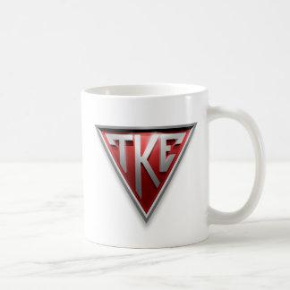 Triángulo de TKE Tazas De Café