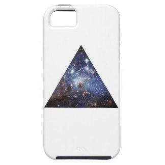 Triángulo del espacio del inconformista iPhone 5 fundas