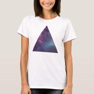 Triángulo del espacio (mujeres) playera