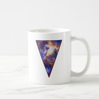 Triángulo del espacio tazas