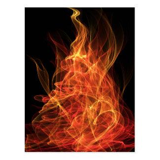 Triángulo del fuego tarjetas postales