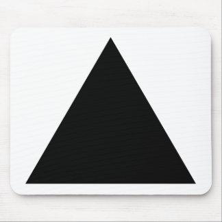 triángulo del inconformista alfombrillas de ratón