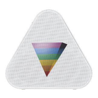 TRIÁNGULO del ORGULLO 3D de LGBT